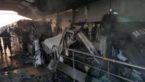 Photo of Fire in Mumbai monorail train; no casualties, however services shut.