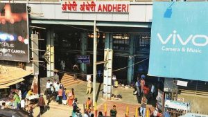 Slab collapses at Andheri station