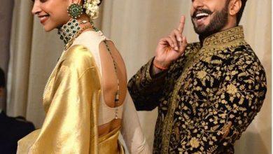 Photo of Deepika and Ranveer looked royal at their Bengaluru wedding reception.