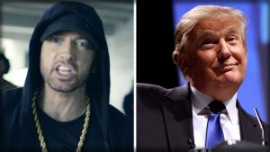 Photo of Eminem says he's ready to take on Trump