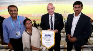 Photo of FIFA Authority thanked Mamata Banerjee for Successful U-17 World Cup