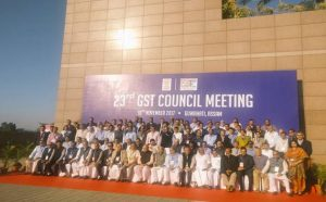Photo of GST Council meeting: Tax rate cut on 177 items