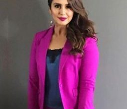 Photo of Huma Qureshi look's like a Barbie doll in bright pink outfit