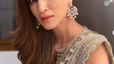 Photo of Kriti Sanon looked lovely in Manish Malhotra sari