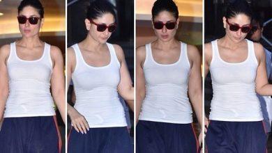 Photo of Malaika Arora and Kareena Kapoor Khan's airport look