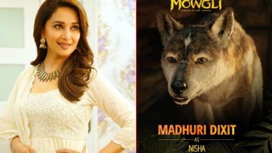 Photo of Madhuri Dixit on being the voice of Nisha in Mowgli