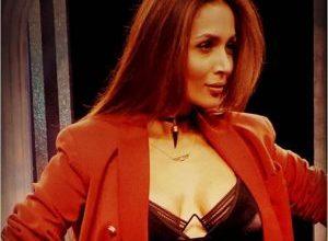 Photo of Malaika Arora looks red hot in Balmani pantsuit