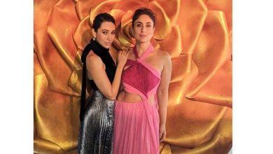 Photo of Kareena Kapoor Khan and  Karisma Kapoor dazzle the red carpet at Lux Golden Rose Awards 2018