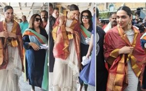Photo of On 10 years of Om Shanti Om Deepika Padukone and Farah Khan visits Tirumala Temple