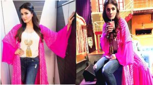 Photo of Raveena Tandon's fusion twist
