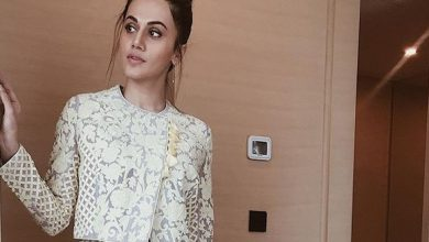 Photo of Taapsee Pannu looked pretty in this white co-ordinated separates
