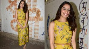 Photo of Shraddha Kapoor looks elegant in Anita Dongre's Grassroot Collection