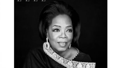 Photo of Oprah Winfrey charms in a Sabyasachi outfit