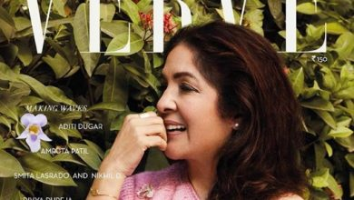 Neena Gupta on the cover of Verve magazine