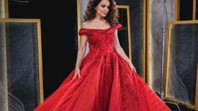Photo of Kangana Ranaut dazzels in this red gown