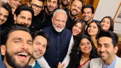 Photo of The young generation of bollywood meets Narendra Modi