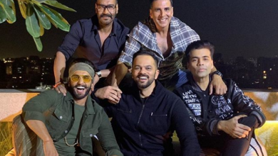 Photo of The cast of Simmba held a success party after earning a whooping 190 crore