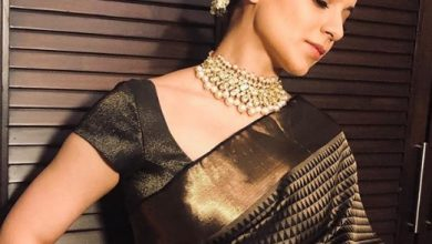 Photo of Kangana Ranaut looked lovely in this sari gifted by Rekha