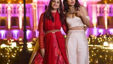 Photo of Parineeti Chopra looked gorgeous at her sister's wedding