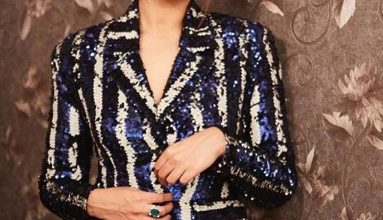 Photo of Sonakshi Sinha nailed this striped pantsuit