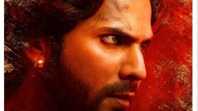 Photo of Varun Dhawan's Kalank first poster look