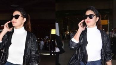 Photo of Jacqueline Fernandez and Aditi Rao Hydari's airport looks