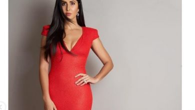 Photo of Katrina Kaif looks stunning in this red dress