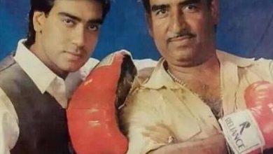 Photo of Ajay Devgan's father, Filmmaker and choreographer Veeru Devgan passes away