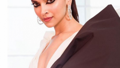 Photo of Deepika Padukone slayed her look at the red carpet of Cannes Film Festival