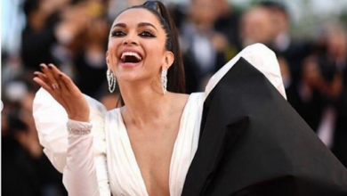 Deepika Padukone looked surreal at the red carpet of the Cannes Film Festival