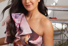 Katrina Kaif at the promotion of Bharat in beautiful Gauri & Nainika gown