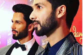 Photo of Shahid Kapoor got his statue at Madame Tussaud's Singapore