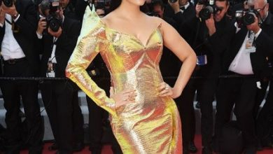 Aishwarya Rai Bachchan fails to impress in this holographic Jean-Louis Sabaji gown