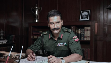Photo of vicky kaushal as field marshal sam manekshaw
