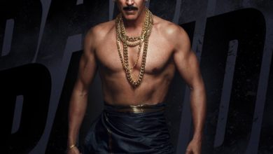 Photo of Akshay Kumar turns rowdy on his new look for Bachchan Pandey