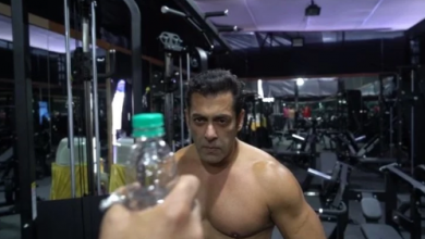 Photo of Salman khan makes a spin bottle cap funny challenge video for his fans