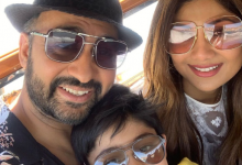 Shilpa Shetty Kundra spends her weekend time with her husband raj kundra and family in venice