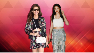 Ananya Panday and Kriti Sanon give tips on how to ace monsoon fashion