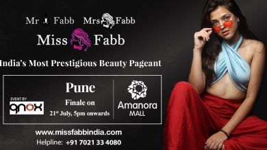 Grand Finale of Miss / Mrs / Mr Fabb Pune on 21 st July at Amanora Mall.
