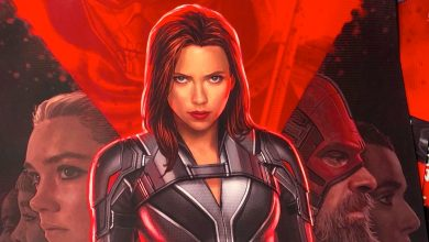 The official poster of Black Widow is finally out