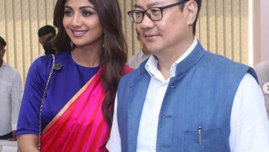 Photo of Shilpa Shetty Kundra looks gorgeous at the launch of the Fit India Movement