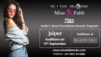 Auditions of Miss, Mrs & Mr Fabb Jaipur 2019 on 15th September 2019