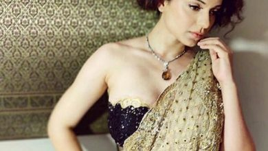 Photo of Kangana Ranaut looks gorgeous in sari from Tarun Tahiliani