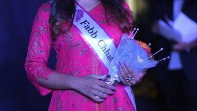 Bhavya Chauhan is Miss Fabb Chhattisgarh 2019.