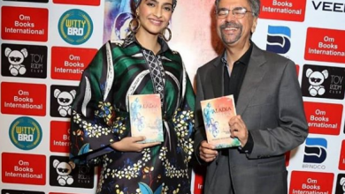 Photo of Sonam Kapoor pulled off the look with a smart headgear