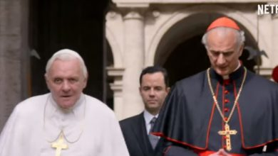 Photo of The Two Popes trailer released