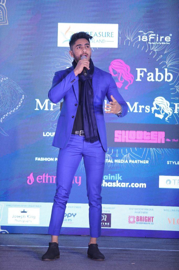Pranshul Jain, Mr Fabb Winner
