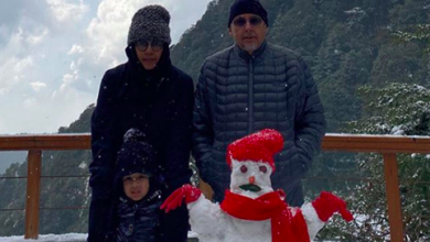 Photo of MS Dhoni spends quality time with family in Mussoorie