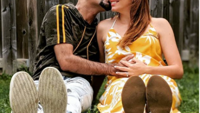 Photo of Raghu Ram and wife Natalie welcome a baby boy