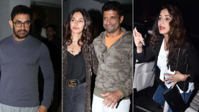 Photo of Bollywood celebrities spotted at the screening of Baba Azmi's Mee Raqsam
